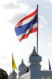 Tajlandia flaga Zdjęcie Royalty Free