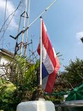 Tajlandia flaga Zdjęcie Stock