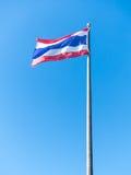 Tajlandia flaga szacunek dla ludzi Zdjęcia Royalty Free