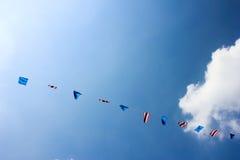 Tajlandia flages Fotografia Royalty Free