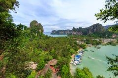 Tajlandia, Krabi Luksusowy kurort Fotografia Stock