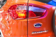 Ford Ecosport na pokazie Obrazy Royalty Free