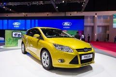 Ford Focus na pokazie Zdjęcie Stock