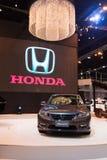 Honda ono Zgadza się na pokazie Zdjęcia Royalty Free