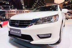 Honda ono Zgadza się na pokazie Zdjęcie Royalty Free