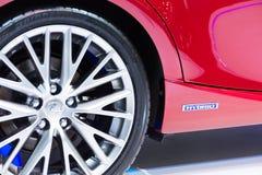Lexus iS300h na pokazie Fotografia Stock