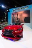 Lexus iS300h na pokazie Obrazy Royalty Free