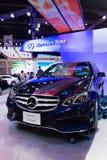 Mercedez Benz nowa klasa na pokazie Zdjęcia Stock