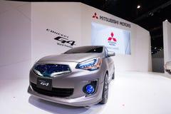 Mitsubishi pojęcie G4 na pokazie Obrazy Royalty Free