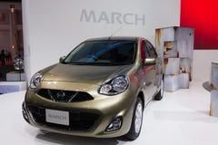 Nissan Marzec na pokazie Obraz Royalty Free