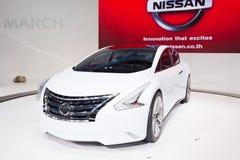 Nissan pojęcia samochód na pokazie Fotografia Royalty Free
