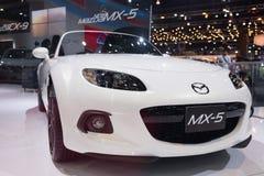Nowy Mazda MX-5 na pokazie Zdjęcia Stock