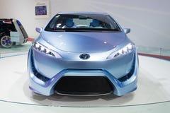 Toyota fcv-r na pokazie Zdjęcie Royalty Free
