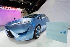Toyota fcv-r na pokazie Obraz Stock
