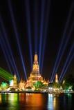 Tajlandia odliczanie 2016 przy Watem Arun Obrazy Royalty Free