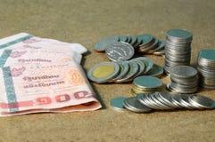 Tajlandia pieniądze zdjęcie royalty free