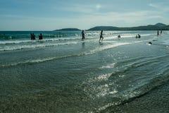 Tajlandia plaża w wiośnie Obrazy Stock