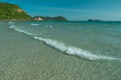 Tajlandia plaża w wiośnie Zdjęcie Stock