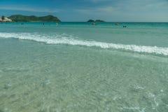 Tajlandia plaża w wiośnie Fotografia Stock