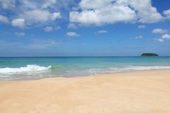 Tajlandia plaża Zdjęcia Stock