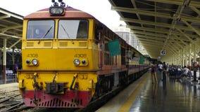 Tajlandia pociąg Obrazy Royalty Free