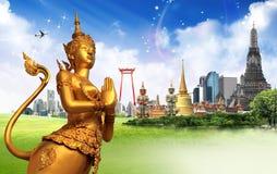 Tajlandia podróży pojęcie zdjęcia stock