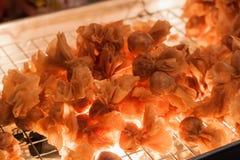 Tajlandia przekąska lub Tajlandia antyczny deser jesteśmy wyśmienicie jeść a fotografia stock