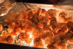 Tajlandia przekąska lub Tajlandia antyczny deser jesteśmy wyśmienicie jeść a Zdjęcie Stock