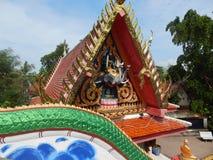 Tajlandia, Samui wyspa, Buddyjskiej świątyni meble rzeczy Obraz Royalty Free
