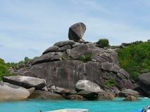 Tajlandia Similan wyspa Zdjęcie Royalty Free