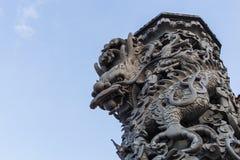 Tajlandia smoka statua Fotografia Royalty Free
