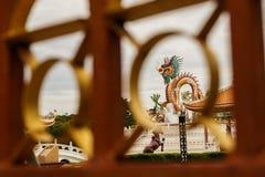 Tajlandia smoka statua Zdjęcie Royalty Free