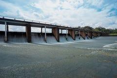 Tajlandia, strumień - Bieżąca woda, architektura, piękno, Błękitny zdjęcie royalty free