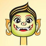 Tajlandia szefa kuchni kreskówki wektoru Gigantyczna ilustracja Fotografia Stock