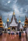 Tajlandia ?wi?tynia wymieniaj?ca ?Wat meliny Salee Sri Muang Gan Wat zakazu melina ? obrazy royalty free