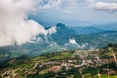Tajlandia widoku punkt Phutabberk obrazy stock