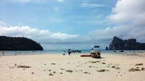 Tajlandia - wycieczka Phi wyspa Zdjęcia Stock