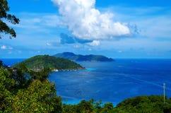 Tajlandia wyspy Similans Fotografia Stock