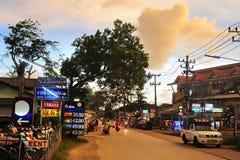 Tajlandia wyspy ulica Fotografia Royalty Free