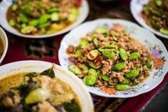 Tajlandzcy desery, Tajlandzcy cukierki Zdjęcia Stock