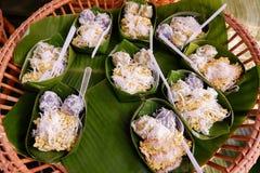 Tajlandzcy desery Z koksem Zdjęcia Royalty Free