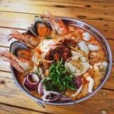 Tajlandzcy foods, Tajlandzki smakosz, Tajlandzka kuchnia Zdjęcia Royalty Free