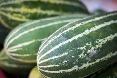 Tajlandzcy kantalupów warzywa używać jako karmowi składniki obrazy royalty free