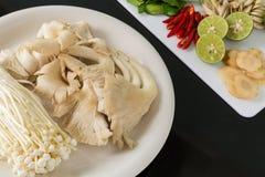 Tajlandzcy Tom Zupni składniki Yum Obraz Stock