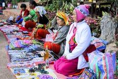 Tajlandzcy wzgórza plemienia ludzie obrazy royalty free