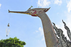 Tajlandzka łabędzia barka prow Fotografia Royalty Free