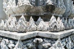 Tajlandzka świątyni baza zdjęcia stock