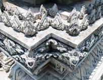 Tajlandzka świątyni baza obrazy royalty free
