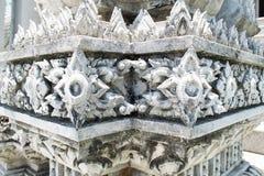 Tajlandzka świątyni baza zdjęcie stock