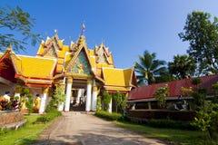 Tajlandzka świątynia, Tajlandia Obraz Royalty Free